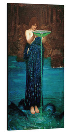 Alu-Dibond  Circe Invidiosa - John William Waterhouse