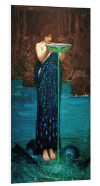 Foam board print  Circe invidiosa - John William Waterhouse
