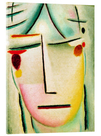 Acrylic print  The Saviour's face: starlight - Alexej von Jawlensky