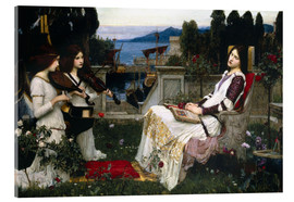 Acrylic print  Saint Cecilia - John William Waterhouse