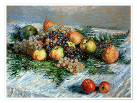 Premium poster Still-life with fruit