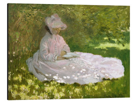 Alu-Dibond  The Reader - Claude Monet