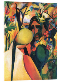Acrylic print  American Indians - August Macke