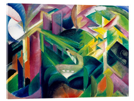 Acrylic print  Deer in the monastery garden - Franz Marc
