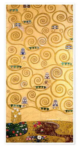 Premium poster The Tree of Life (left outer panel)