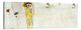 Canvas print  Beethove frieze - Gustav Klimt