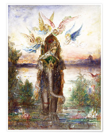Premium poster  The sacred elephant - Gustave Moreau