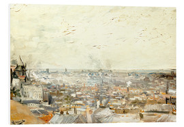 Forex  Roofs of Paris from Montmartre - Vincent van Gogh