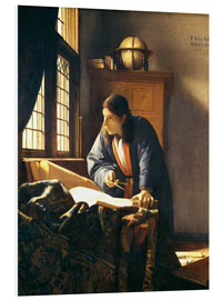 Jan Vermeer - A geographer or astronomer in his study
