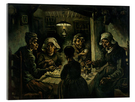 Acrylic glass  The Potato Eaters - Vincent van Gogh