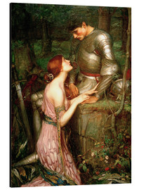Aluminium print  Lamia - John William Waterhouse