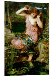 Acrylic print  Lamia - John William Waterhouse