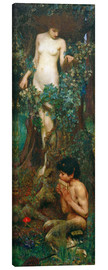 Canvas print  A Hamadryad - John William Waterhouse