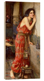 Wood print  Thisbe - John William Waterhouse