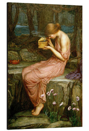 Aluminium print  Psyche opening the golden box - John William Waterhouse