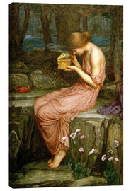 Canvas print  Psyche opening the golden box - John William Waterhouse