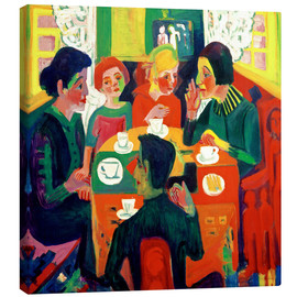 Canvas print  Coffee table - Ernst Ludwig Kirchner