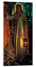 Acrylic glass  The Light of the World - William Holman Hunt