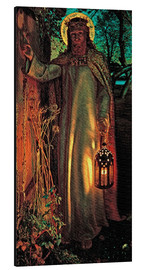 Aluminium print  The Light of the World - William Holman Hunt