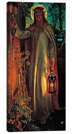 Canvas print  The Light of the World - William Holman Hunt