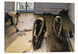 Forex  The parquet planers - Gustave Caillebotte