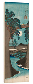 Wood print  The Monkey Bridge in Kai Province - Utagawa Hiroshige