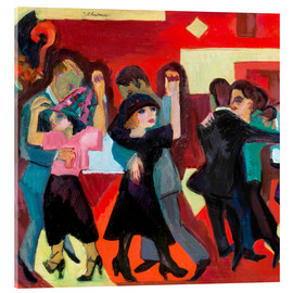 Acrylic glass  Tangothee - Ernst Ludwig Kirchner