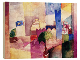 Wood print  Kairouan III - August Macke