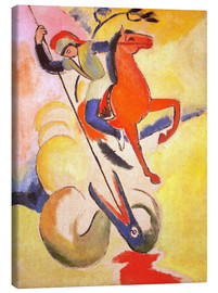 Canvas print  St. George - August Macke