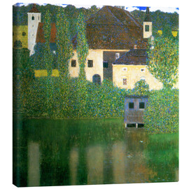 Canvas print  Castle chamber on the Attersee I - Gustav Klimt