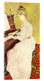 Acrylic print  Marguerite Gachet at the piano - Vincent van Gogh