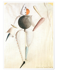 Premium poster Design for the Triadic Ballet