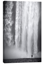 Canvas  Skogafoss - Dave Derbis