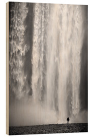 Wood  Skogafoss - Dave Derbis