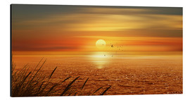 Aluminium print  Sunset Over The Ocean - Monika Jüngling