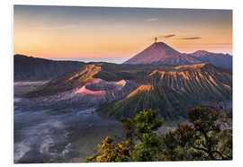 Foam board print  Mount Bromo Sunrise - Andreas Wonisch