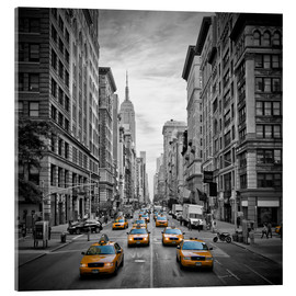 Acrylic print  New York City, 5th Avenue Traffic - Melanie Viola