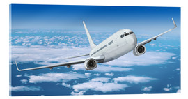 Acrylic print  Passenger airline over the clouds - Kalle60