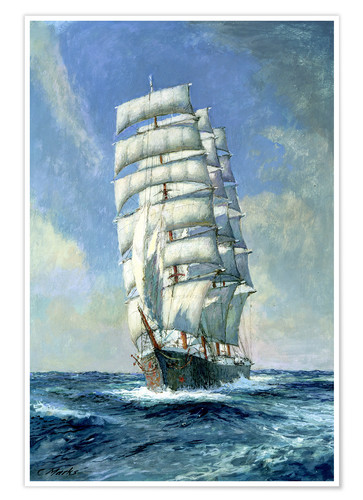 Premium poster Unnamed sailboat