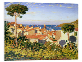 Foam board print  Collioure, 1911 - James Dickson Innes