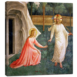 Canvas print  Noli Me Tangere, 1442 - Fra Angelico