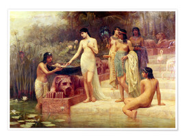 Premium poster Pharaoh's Daughter - The Finding of Moses