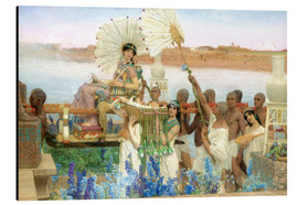 Alu-Dibond  The Finding of Moses by Pharaoh's Daughter - Lawrence Alma-Tadema