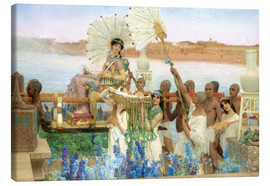 Lawrence Alma-Tadema - The Finding of Moses by Pharaoh's Daughter