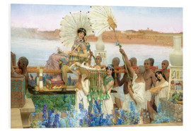 Foam board print  The Finding of Moses by Pharaoh's Daughter - Lawrence Alma-Tadema