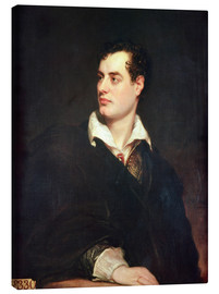 Canvas print  Lord Byron - Thomas Phillips