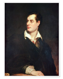 Poster Portrait of Lord Byron