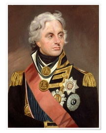 Premium poster  Lord Nelson - Sir William Beechey
