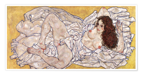 Premium poster Reclining Woman