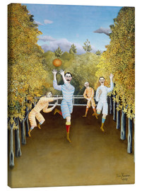 Canvas print  the football players - Henri Rousseau